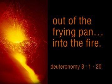 07-18-04 Deuteronomy..