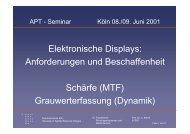 Elektronische Displays