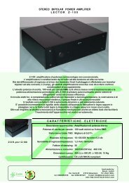 STEREO BIPOLAR POWER AMPLIFIER ... - Docet Lector