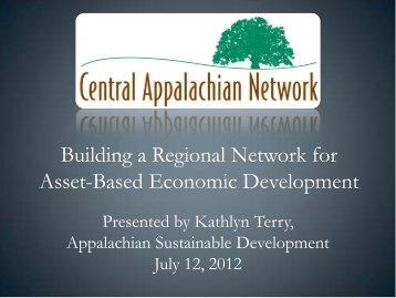 Building a Regional Network for Asset-Based Economic ... - NADO.org