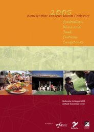 Food and Wine Brochure - South Australian Policy Online