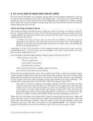 6. The Christ, KING OF KINGS AND LORD OF ... - Gospel Lessons