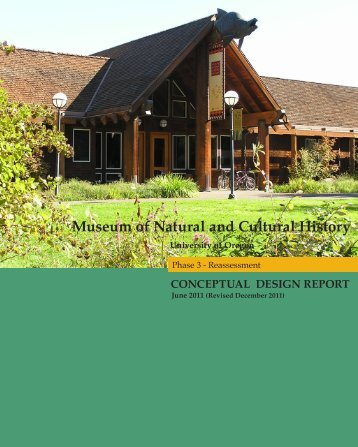 Museum of Natural and Cultural History Phase 3 ... - Campus Planning