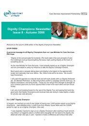 Autumn Dignity Newsletter 2008 (pdf - 160Kb) (opens new window)