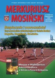 Wydanie Nr 42/43 (sierpień/wrzesień 2006) - Mosina, Urząd Miasta