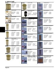 E. PRODUCT GUIDE Hydraulic Filters