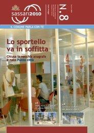 n. 8 giugno 2009 - Comune di Sassari