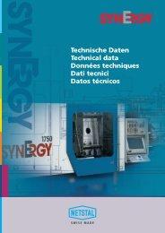 Technische Daten Technical data Données techniques ... - Exapro