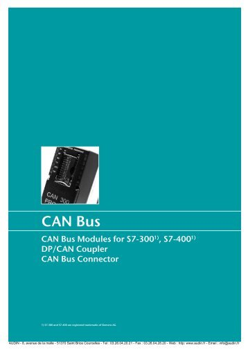 HELMHOLZ - Documentation: CAN-BUS - Audin