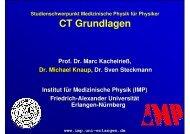 2 - Instituts für Medizinische Physik - Friedrich-Alexander-Universität ...