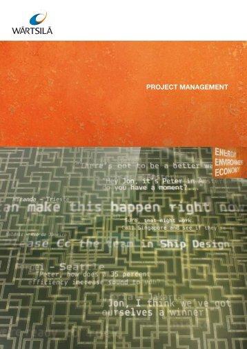 Project Management - Wärtsilä