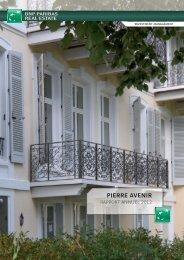 Rapport annuel - Pierre Avenir - 2012 - BNP Paribas REIM