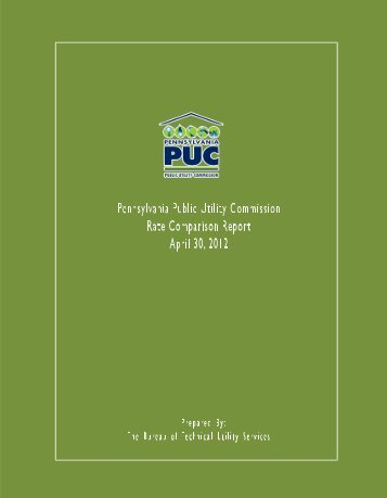 2012 Report - Pennsylvania Public Utility Commission