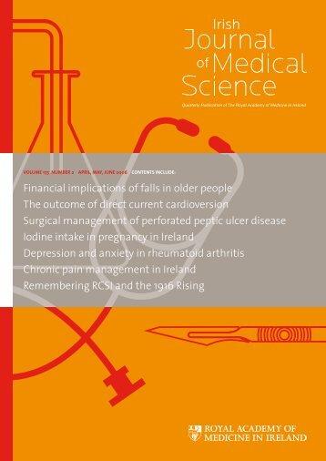 1-84 April, May, June 2006 - IJMS   Irish Journal of Medical Sciences