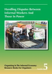 Handling Disputes Between Informal Workers And Those ... - WIEGO