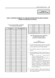 ceny a určené podmínky ve veřejné vnitrostátní silniční linkové ...