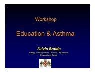 Education & Asthma - World Allergy Organization