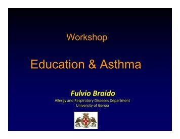 Education & Asthma - World Allergy Organization