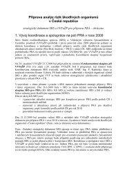 Příprava analýz rizik škodlivých organismů v České republice