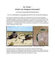 Der Aralsee – Wirklich eine ökologische Katastrophe?