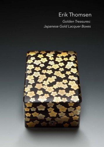 Golden Treasures: Japanese Gold Lacquer Boxes - Erik Thomsen