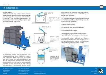 HS-Filtermobile - HS Luftfilterbau GmbH