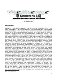 25 GIUGNO 2001 Riccardo Moro• Buonasera a ... - Chiesa di Milano