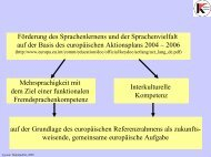 Kurzbericht des Vortrages als PDF - DaF Netzwerk
