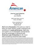 Mazak Parts Catalog - American Laser Enterprises, LLC. - Page 2