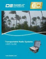 Transportable Guide - Daniels Electronics