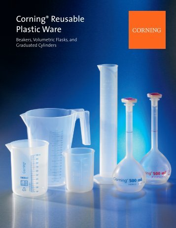 Corning Reusable Plasticware - TekniScience.com
