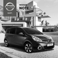 NOTE - Preise - Nissan Newsroom Europe