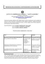protocollo di accoglienza e di integrazione alunni stranieri