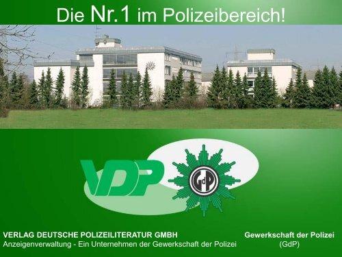 Gewerkschaft der Polizei - Verlag Deutsche Polizeiliteratur