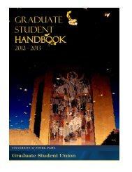 New Graduate Student Handbook - Graduate Student Union
