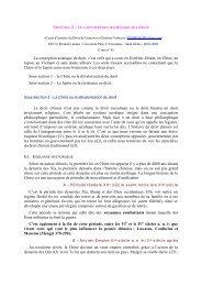 la conception asiatique du droit La conception asiatique du droit, c ...