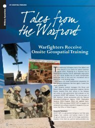 Warfighters Receive Onsite Geospatial Training - BAE Systems GXP ...