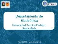 Departamento de Electrónica - Universidad Técnica Federico Santa ...