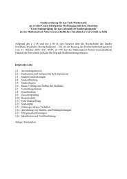Sonderpädagogik mit Mathematik als zweitem Fach - Seminar für ...