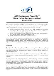 AIST Background Paper No 7 Listed Unlisted debate revisited March ...