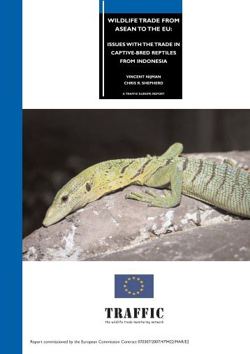 Wildlife trade from ASEAN to the EU: Issues with the trade in ... - Traffic