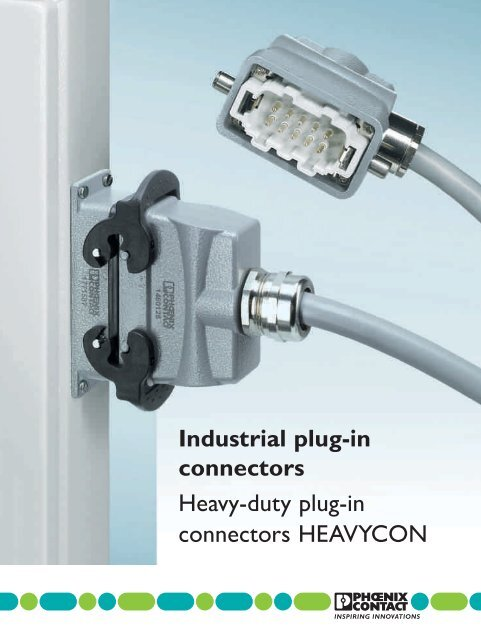 Industrial plug-in connectors Heavy-duty plug-in ... - Phoenix Contact