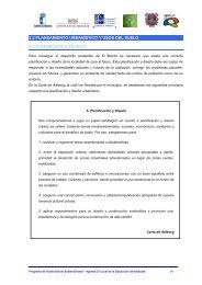 2.2. Planeamiento urbanístico y usos del suelo. - Diputación ...