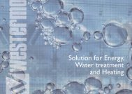 Solution for Energy, Water treatment and Heating