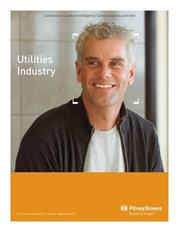 Utilities Industry - Pitney Bowes Business Insight