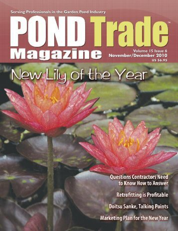 Download the November / December, 2010 PDF - Pond Trade ...