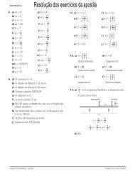 matemática gabarito 2 - Colégio Guilherme de Almeida