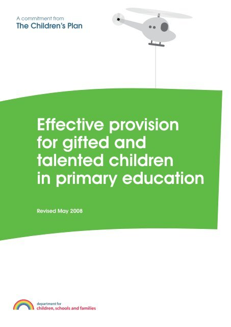 talented children in primary education