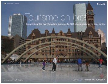 Tourisme en bref Janvier 2013 - Canada