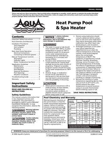 Heat Pump Pool & Spa Heater - Best Buy Pool Supply
